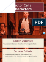 Main Characters PowerPoint