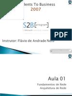 S2B 2007 - Infra - Aula 01 v1.00