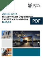 MAHandbook 2019-20 History of Art York