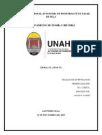 INFORME INVESTIGACION DEL ABORTO EN HONDURAS