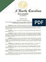 North Carolina stay-at-home order