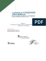 Seminario de trasparencia y gobierno