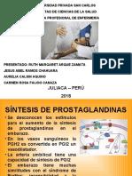 SÍNTESIS DE PROSTAGLANDINAS.ppt