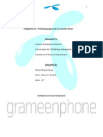 Positioning Approach of Grameen Phone by Shovon