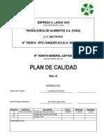 Plan de Calidad - U.O. Matarani