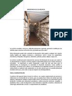 2 ensayo IMPORTANCIA DE LOS ARCHIVOS
