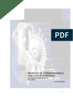 Apuntes Termodinámica MEC315 PDF