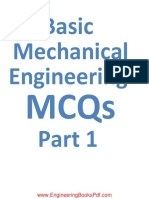 Basic Mechanical Engineering MCQs Part (1)