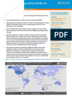 World Health Organization COVID-19 report - March 27