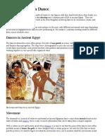 Ancient Egyptian Dance.docx