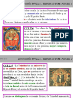 ECONOMÍA DIVINA Y TRINIDAD INMANENTE 1.ppt