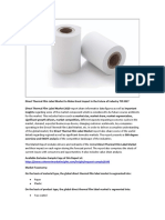 Direct Thermal Film Label Market