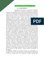 FASES DE LA PROGRAMACIÓN