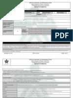 Reporte Proyecto Formativo - 2007065 - FABRICACIÓN DE MUEBLES MODULAR