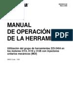 Calibracion de Inyectores MUI en motores 3114, 3116, 3126-1