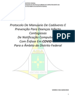 Protocolo de Manuseio de Cadaveres