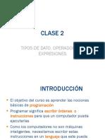 Clase de programación