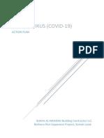 Corona Virus (Covid-19) - Action Plan- Rev.01