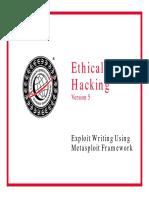 Exploit Writing Using Metasploit Framework