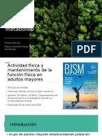 ARTICULOS ACTIVIDAD FISICA TRATAMIENTO METABOLICO