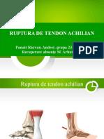 Ruptura de tendon achilian-recuperare absente Sf. Arhangheli.pptx