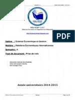 381431253 Relations Economiques Internationales S6 PDF
