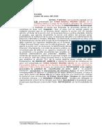 ADMITIR CONST ACTOR CIVIL SONIA  MEDINA TRAFICO DE DROGAS.docx