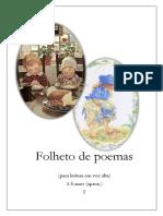 Folheto de Poemas I
