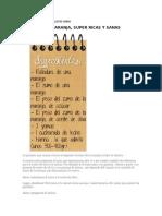 TIPOS DE GALLETAS SANAS