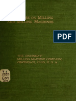 Treatise on Milling and Milling Machines