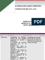 COMUNICACIÓN CAMBIOS SPPTR 2019