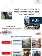 9. CARACTERIZACION DE LA FUENTE 2019 DIRESA HUANCAVELICA