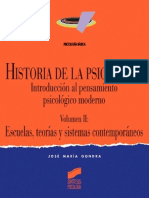 Historia de la Psicología. Vol. II Escuelas y teorías contemporáneas - José María Gondra.pdf