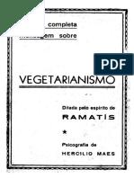 VEGETARIANISMO - Ramatis