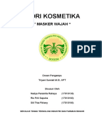 MAKALAH MASKER WAJAH