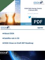 esoa-Presentation-on-2018-IMT-Roadmap