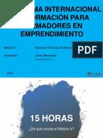 Sesión 1 - Javier Benavides (1)