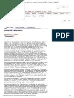 Folha de S.Paulo - Colunistas - Pasquale Cipro Neto - _Pesadelo_ - 09_08_2012