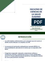 6. Presentación RCP avanzada Dra. Karina Marín