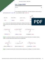 Nomenclatura de Alquenos - Reglas IUPAC
