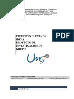 Formato Entrega Parcial1 Proyecto de Investigacion