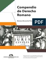 Moranchel, P. M. (2017). Compendio de Derecho Romano