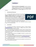 SEIP - ETE INTEGRADO 2020 - Minuta do Edital de Seleção