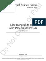 Diez Maneras de Crear Valor para los Accionistas.pdf