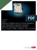 eVM1 MV Vacuum circuit-breakers 12kV to 17.5kV ABB.pdf