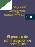 Estructuracion y Administracion de Portafolios de Inversion