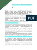TEORÍAS QUE EXPLICAN LA NATURALEZA DE LA ACTIVIDAD FINANCIERA