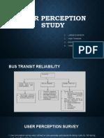 User Perception Survey