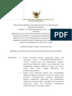 P.2_MenLHK 2020_Perubahan P.105_2018_RHL