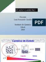 El Estado Gaseoso y Fuerzas Intermoleculares(2)